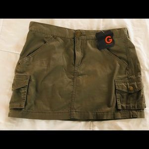 G by Guess mini skirt dry moss A835